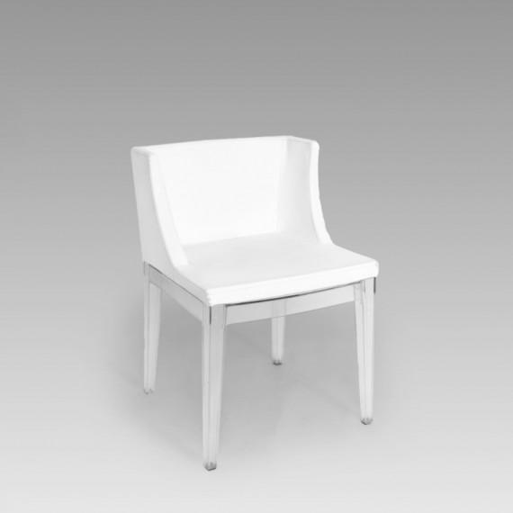Cadeira Christie Acrílico Branca 0,47 x 0,44 x 0,80