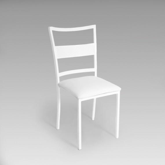 Cadeira Firenze Ferro Branca 0,44 x 0,40 x 0,88