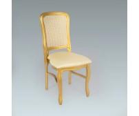 Cadeira Viena Palhinha Dourada 0,45 x 0,50 x 0,97