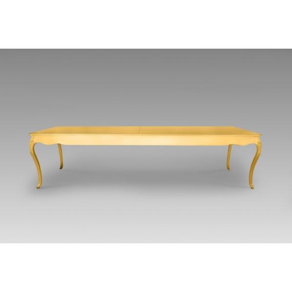 Mesa Florença Dourada 3,00 x 1,00