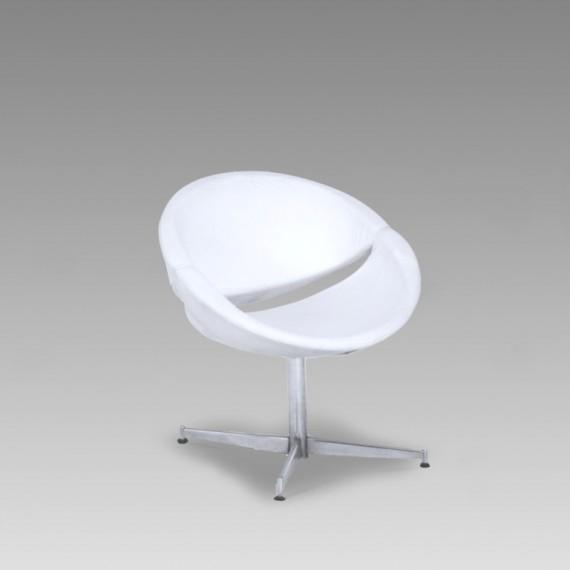 Poltrona Milão Branca 0,68 x 0,49