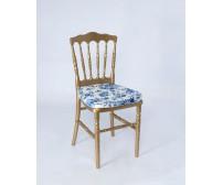 Cadeira Dior Dourada 0,39 x 0,39 x 0,88