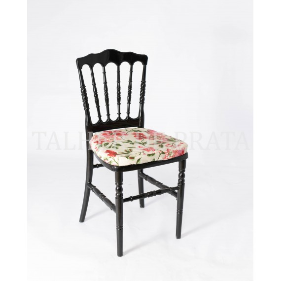 Cadeira Dior Preta 0,39 x 0,39 x 0,88