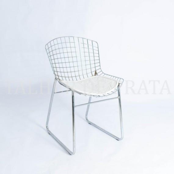Cadeira Bertóia Inox 0,45 x 0,41 x 0,80