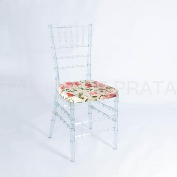 Cadeira Tiffany Cristal 0,40 x 0,40 x 0,91