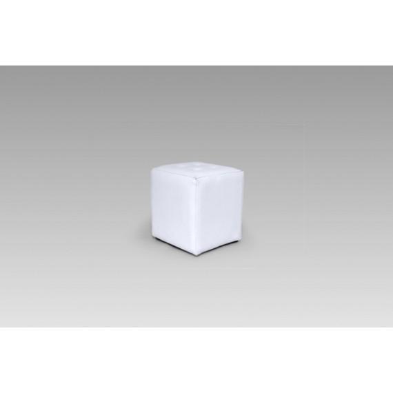 Puff Capri Branco 0,40 x 0,40