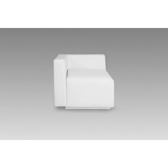 Sofá Firenze Branco de Canto 0,75 x 0,75
