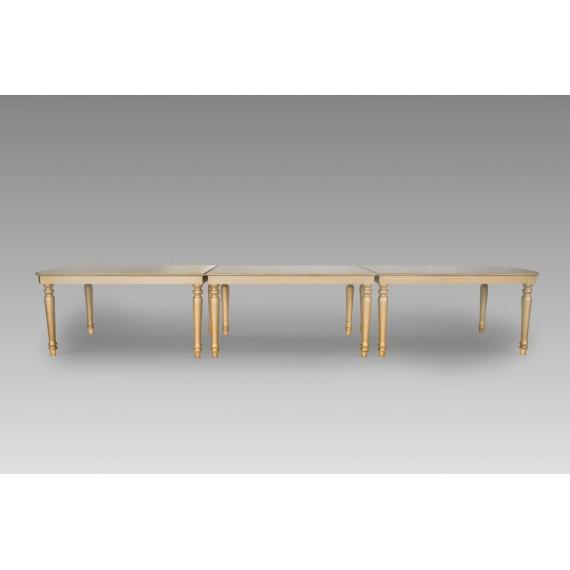 Mesa Lucca Dourada Modular 4,50 X 1,00 X 0,75